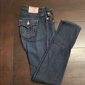 True Religion Skinny Jeans sz 28